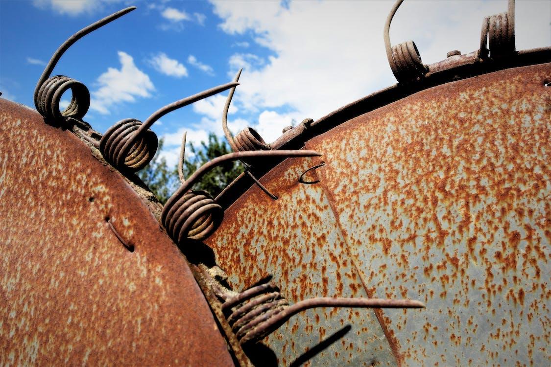 Free stock photo of vintage farming equipment, vintage tilling