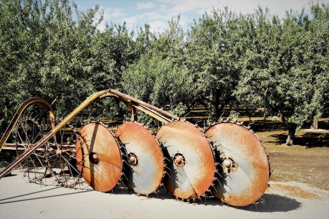 ビンテージ耕うん, ビンテージ農業機器の無料の写真素材