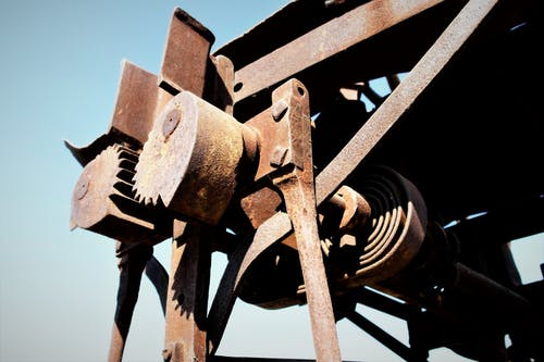 Free stock photo of gears, gold rush, mining shaft elevator