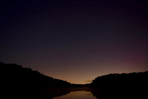 Free stock photo of astrophotography, horizon, lake at night, outer space