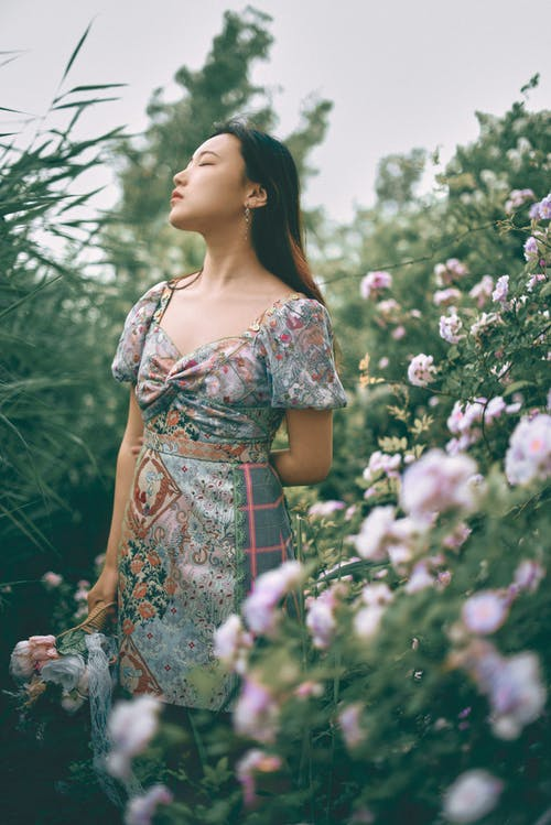 中國女孩, 人像攝影, 公園, 北京 的 免費圖庫相片