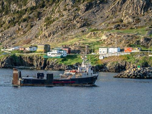 Бесплатное стоковое фото с берег, бухта португалия, лодки