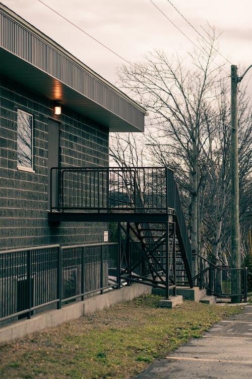 エントランス, エントリ, グレーの無料の写真素材