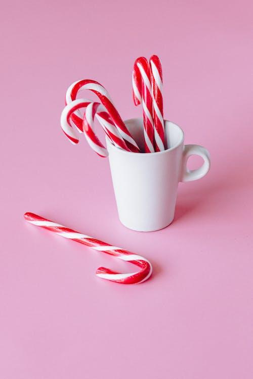 Základová fotografie zdarma na téma čokoláda, cukr, cukrová hůlka