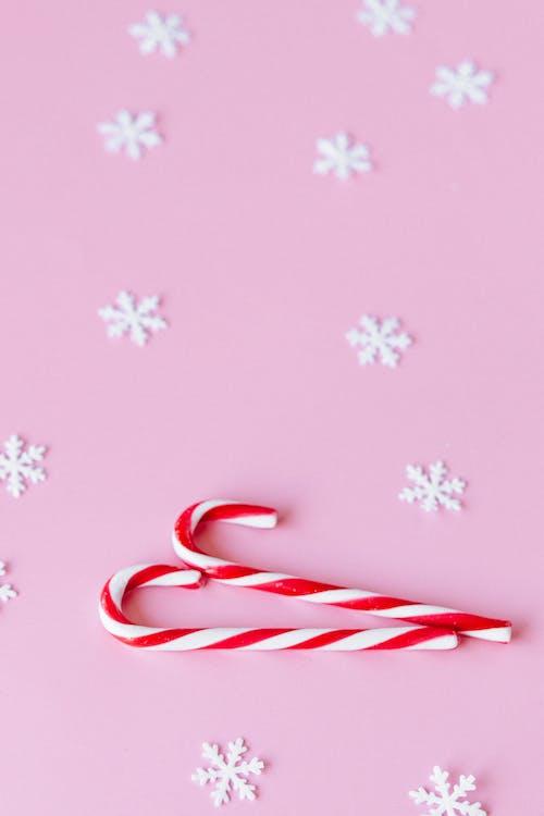 Immagine gratuita di bastoncini di zucchero, fiocchi di mele, modello