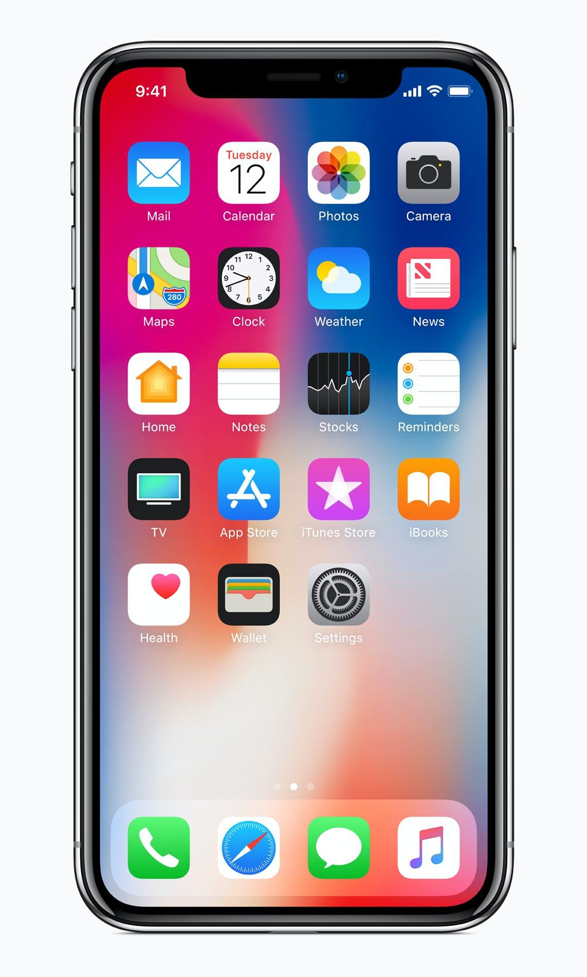 iPhone, iPhone X., 主螢幕, 手機 的 免費圖庫相片