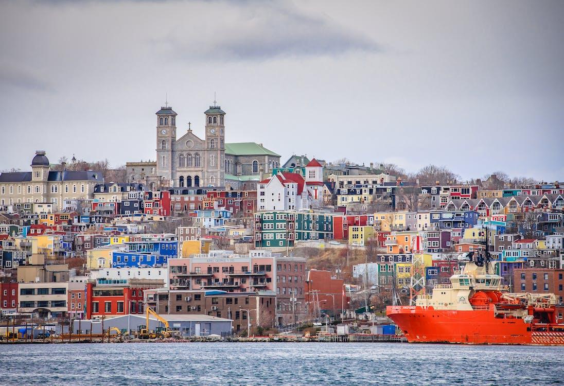 Δωρεάν στοκ φωτογραφιών με st. του john, κέντρο πόλης, λιμάνι