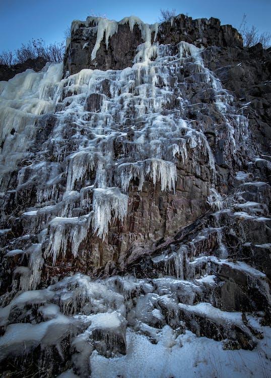 คลังภาพถ่ายฟรี ของ กำแพงน้ำแข็ง