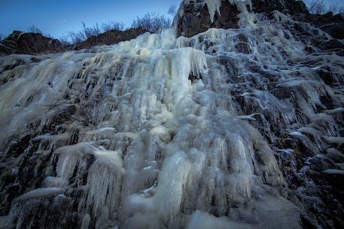 คลังภาพถ่ายฟรี ของ น้ำแข็ง, ผนัง