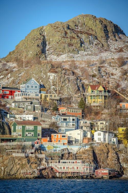 คลังภาพถ่ายฟรี ของ saltbox, นิวฟันด์แลนด์, บ้านที่มีสีสัน