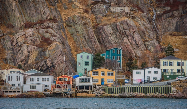Free stock photo of houses, color, newfoundland, st. john's