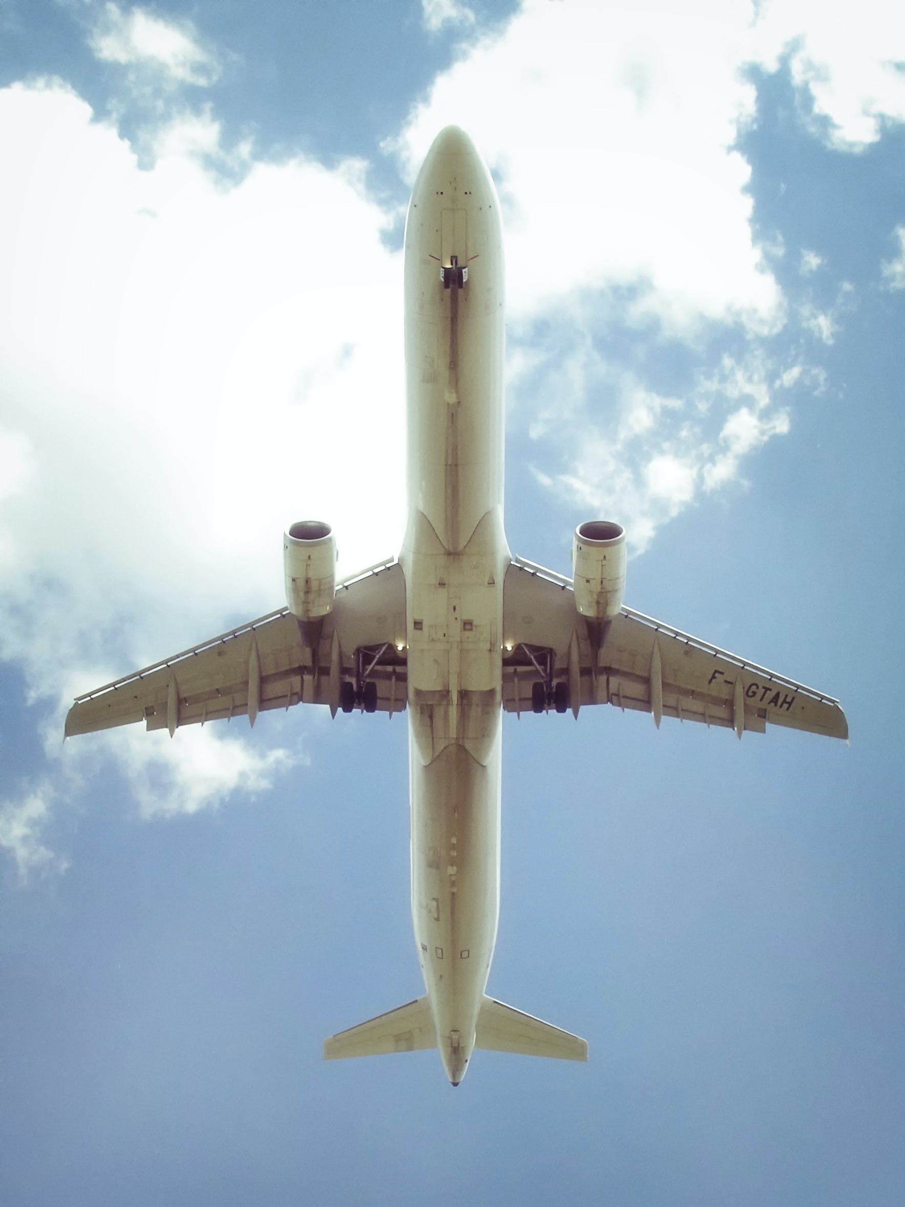 Free stock photo of airplane
