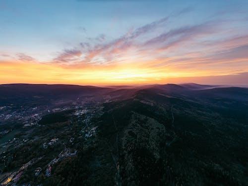 Free stock photo of adventure, aerial, autumn, czech