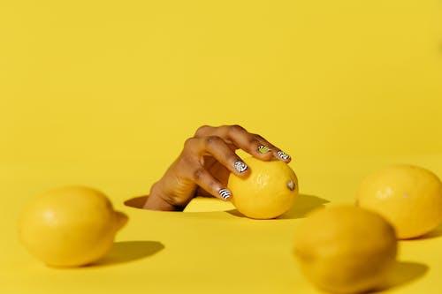 Yellow Fruit on White Table