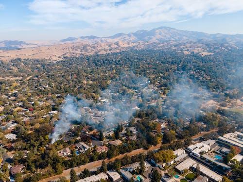 Gratis lagerfoto af brand, californien, røg