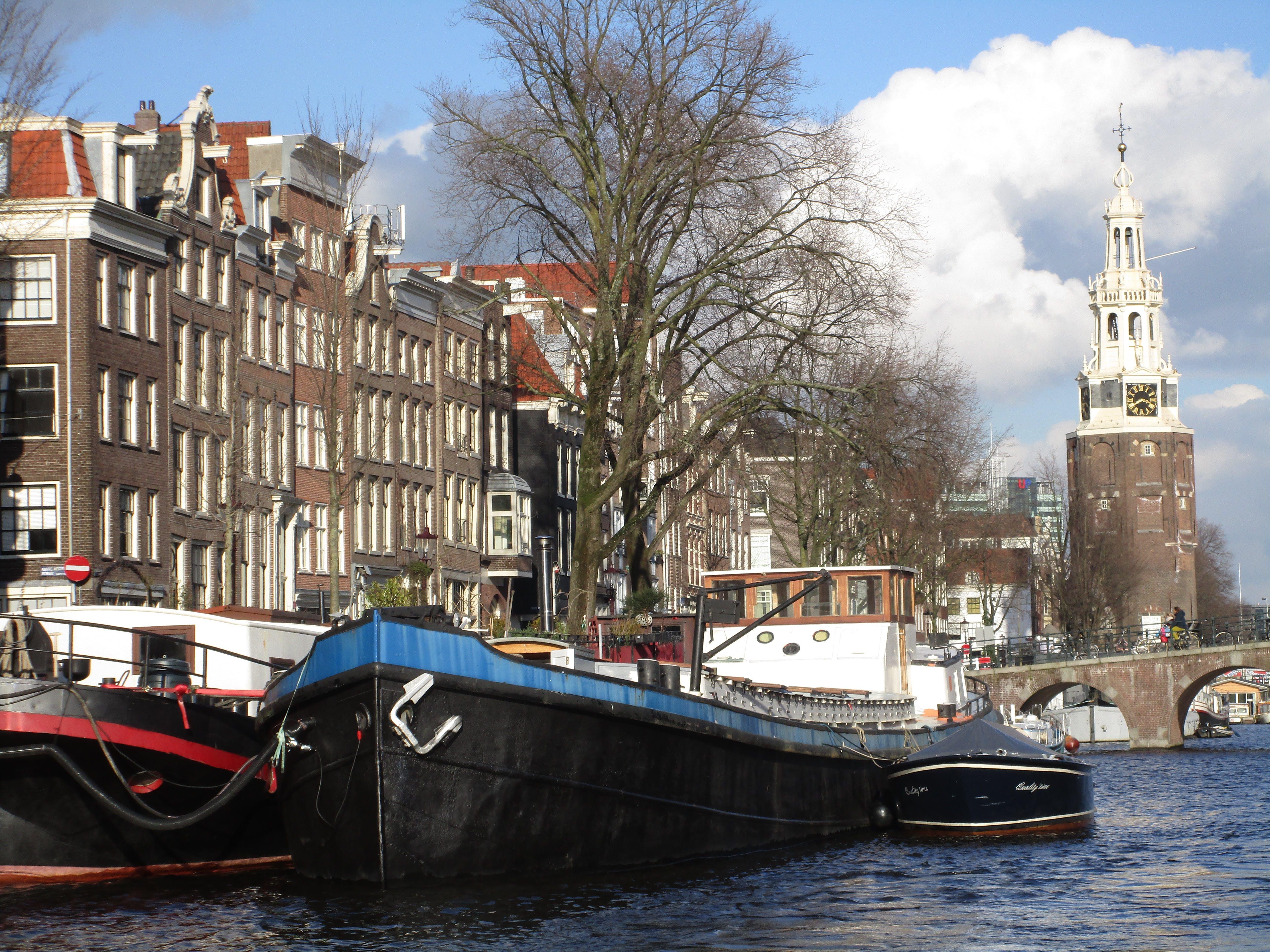 Free stock photo of amsterdam