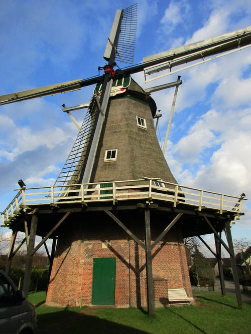 Photos gratuites de moulin à vent