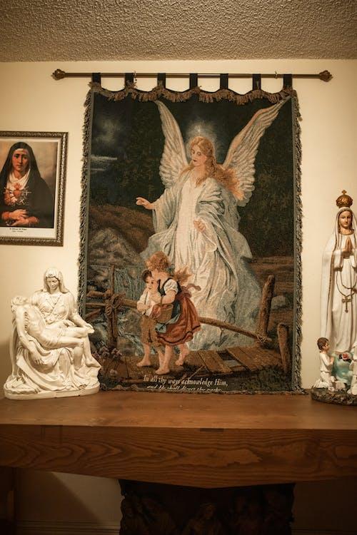 Jesus Christus Und Jungfrau Maria Malerei