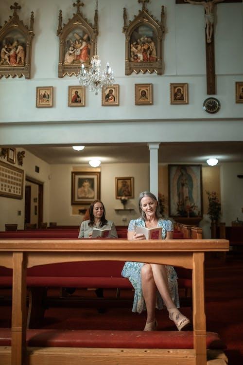 Women Praying in the Church