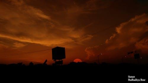 下午, 太陽, 日落, 移動攝影 的 免費圖庫相片