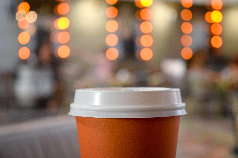 Free stock photo of bokeh, coffee, cup, lights