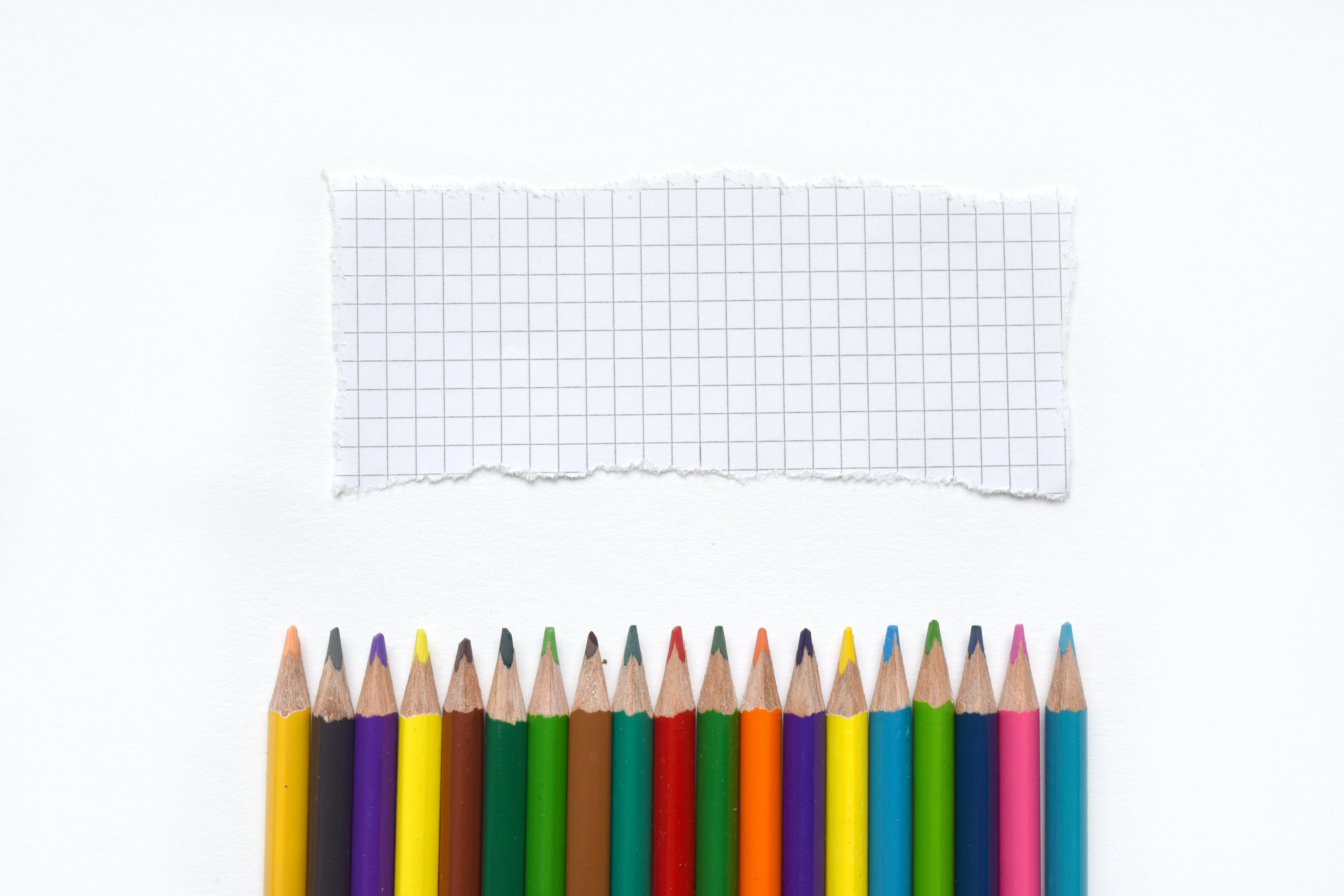 Free stock photo of art, art supplies, back to school, bright colors