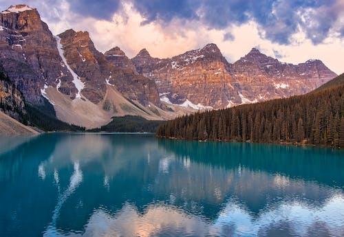 Immagine gratuita di acqua, alba, alto