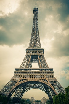 Free stock photo of eiffel tower, france, paris, summer