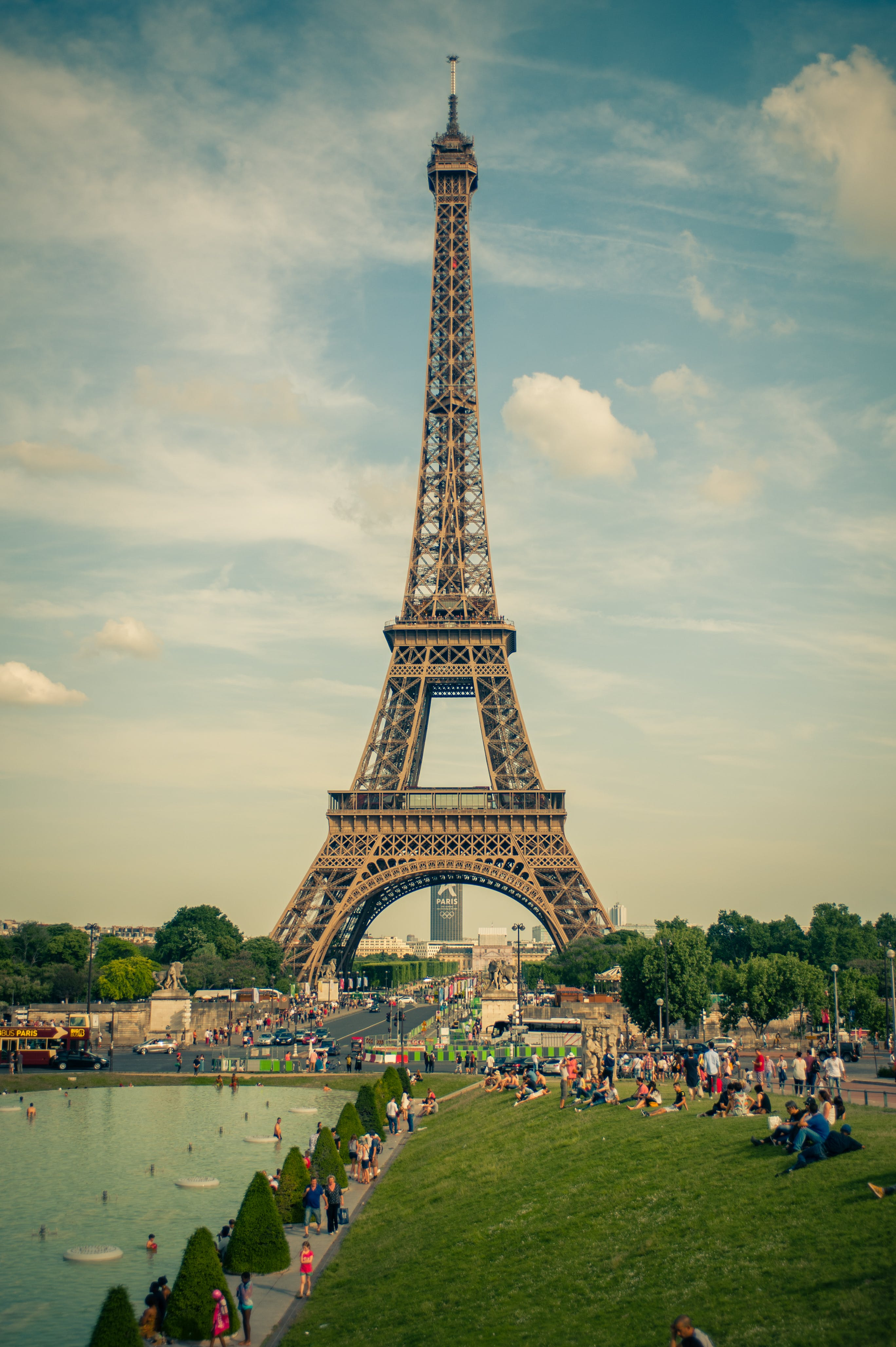 Free stock photo of eiffel tower, france, paris, park