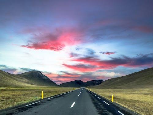 Foto profissional grátis de céu, estrada, icelnad