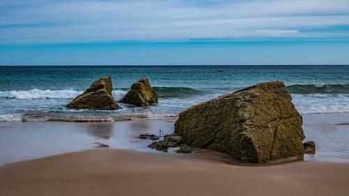 Free stock photo of beach, rocks, scotland, surf