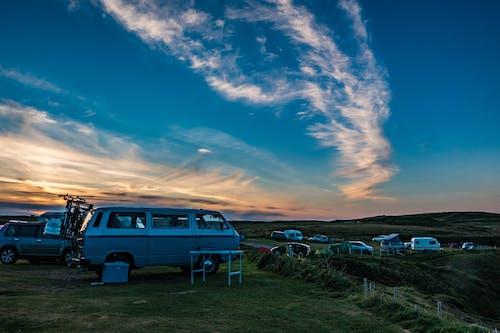 Imagine de stoc gratuită din automobil, autoturisme, camping, lumină