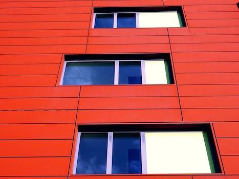 Free stock photo of building, architecture, windows, facade