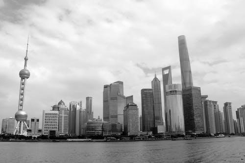 Asya, binalar, Çin, çok katlı binalar içeren Ücretsiz stok fotoğraf