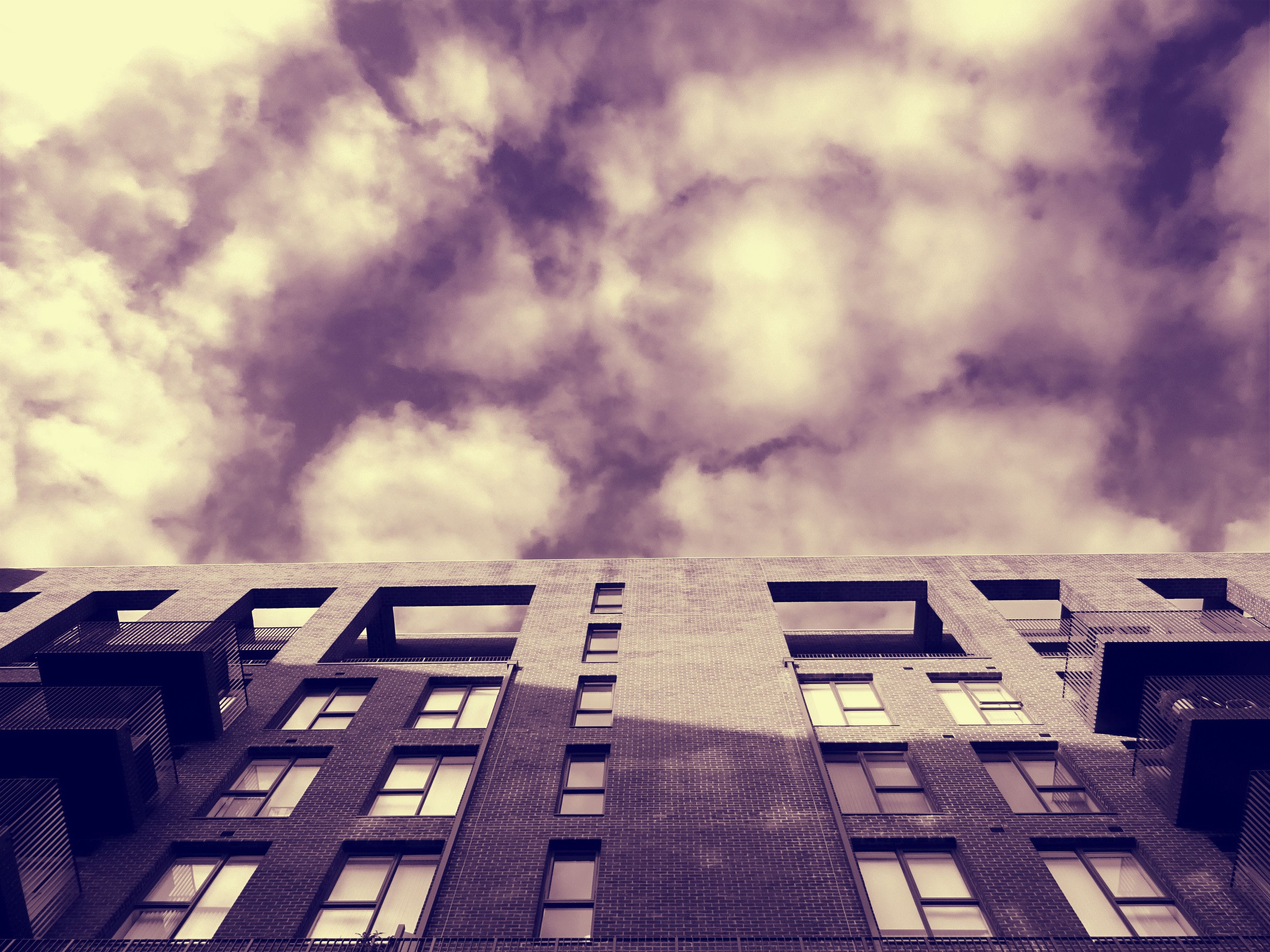 Free stock photo of dawn, clouds, dark, architecture