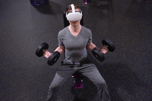 VR, vr 고글, 가상현실의 무료 스톡 사진