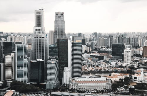 商業, 城市, 塔 的 免费素材图片