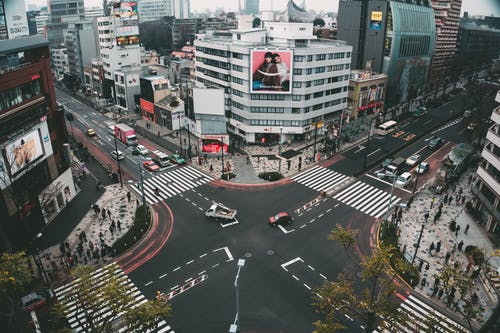 交通, 交通系統, 十字路口 的 免费素材图片