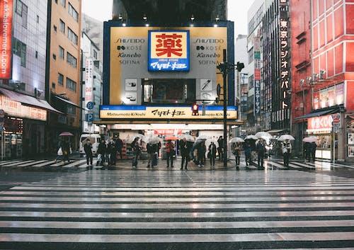 交通, 交通系統, 商業, 城市 的 免費圖庫相片