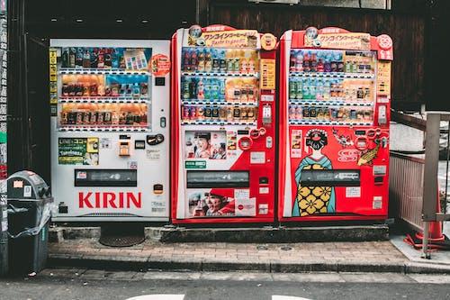 商品, 商業, 喝, 城市 的 免費圖庫相片