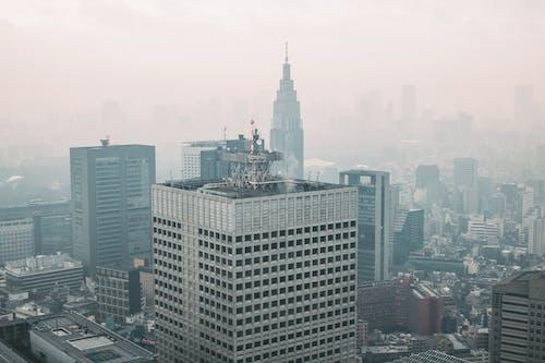 商業, 城市, 塔, 天際線 的 免費圖庫相片