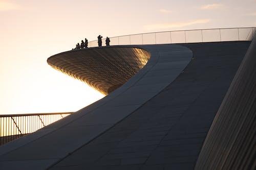 Imagine de stoc gratuită din arhitectură, balustrade metalice, cer