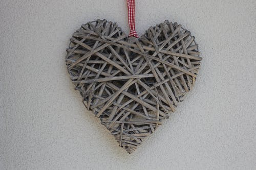 Free stock photo of christmas, heart, love