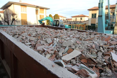 Free stock photo of restructure, rubble, yard