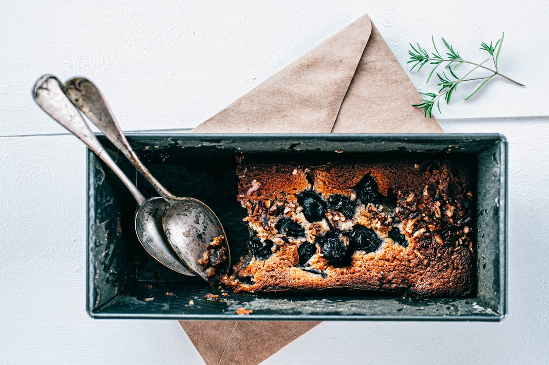 Free stock photo of food flatly, food photography, grape bread
