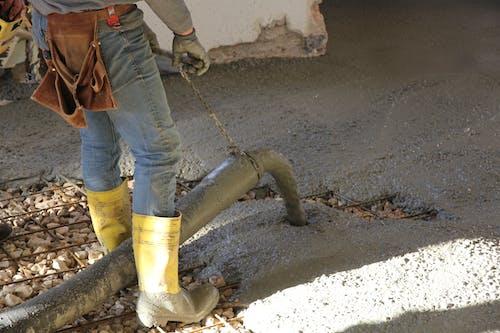 Free stock photo of concrete cast, concrete floor, yard