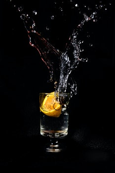 Free stock photo of cocktail, drink, glass, orange