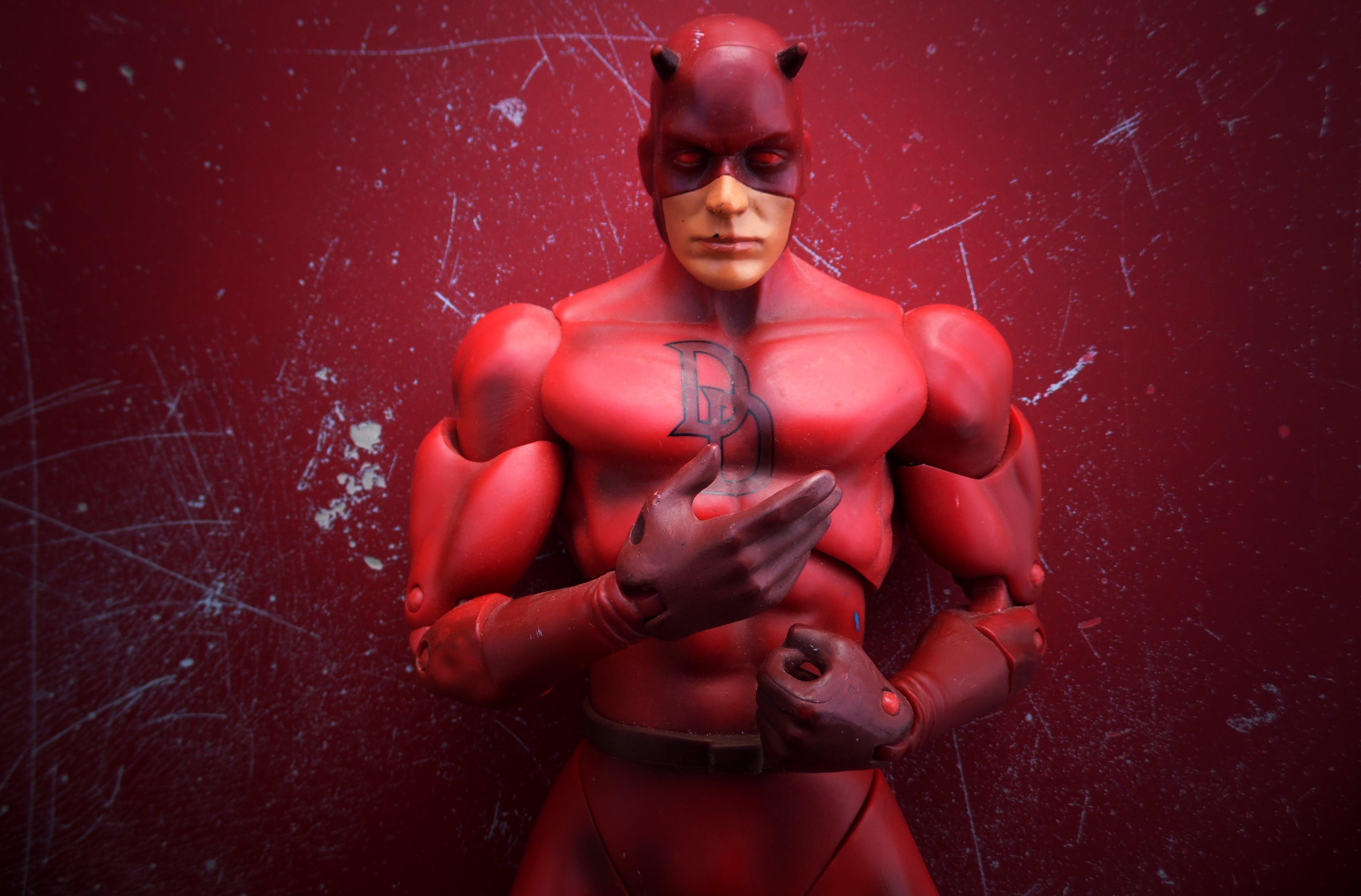 of comic, daredevil, juguete