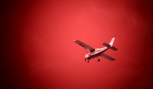 Free stock photo of avion, Avioneta, cielo