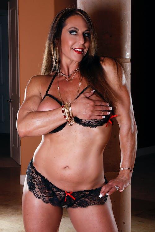 Free stock photo of fitness model, lingerie